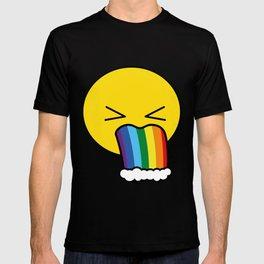 Puke Rainbow - Emoji T-shirt