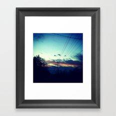 set adrift on memory's bliss Framed Art Print