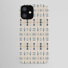 Light Indigo Shibori iPhone Case