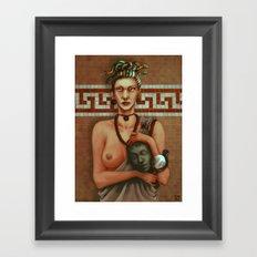 Medusa's Tears Framed Art Print