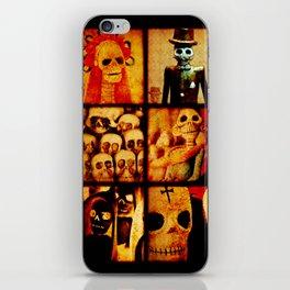 Spooky Calavera Skulls iPhone Skin