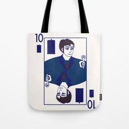 Ten of Tardis Tote Bag