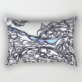 Brace for the Wave Rectangular Pillow