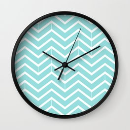 Limpet Shell Zigzags Wall Clock