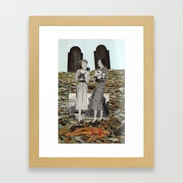This Is The End & It's Still Living Framed Art Print