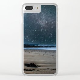 Beach Planet Clear iPhone Case