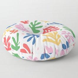 Nature Leaf Cut Outs | Henri Matisse Series Floor Pillow