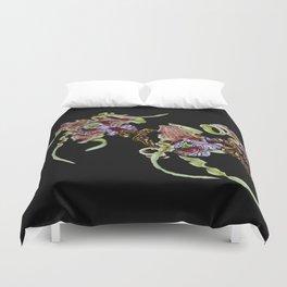 Dendrobium Spectible (The Alien Orchid) Duvet Cover