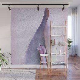 Purple Calla Over Canna Wall Mural