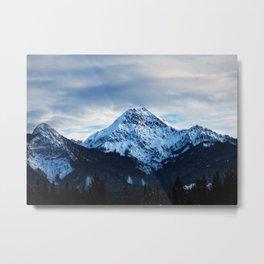 snow_6 Metal Print