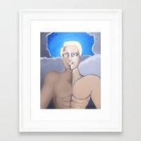 roman Framed Art Prints featuring Roman by Artist Fran Doll