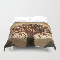 crown Duvet Covers featuring Crown by Armine Nersisian