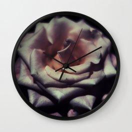 My Darkening Rose Wall Clock