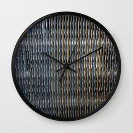 Metal. Fashion Textures Wall Clock