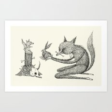 'Offering' Art Print