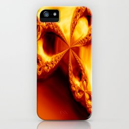 Journey to the center of the earth. iPhone Case