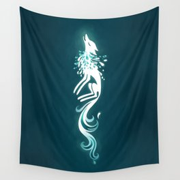 Light Fox Wall Tapestry