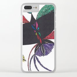 A Colorful Flight Clear iPhone Case