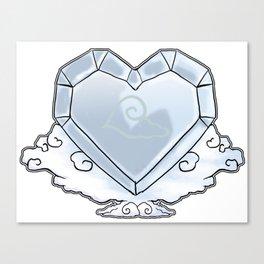 Heart of Air Canvas Print