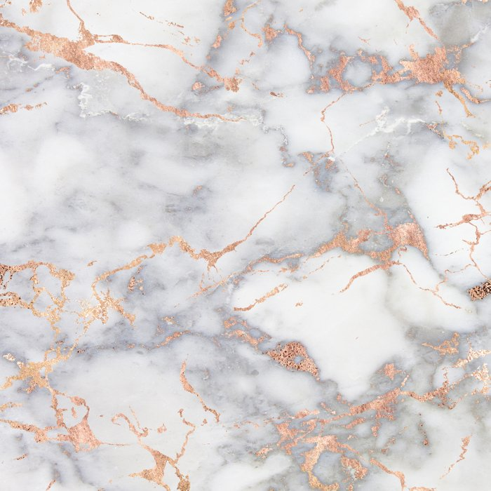 Gray Marble Rosegold  Glitter Pink Metallic Foil Style Comforters