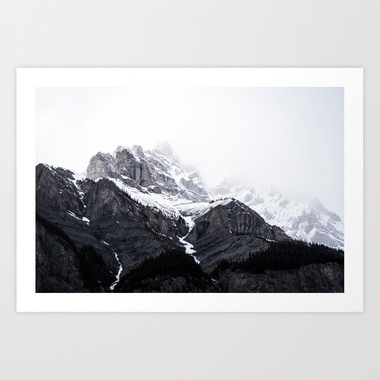 song of the mountains Art Print