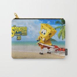 spongebob squarepants,cartoon,patrick,Squidward,sandy,Mr. Krabs Carry-All Pouch