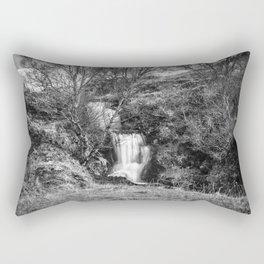 Ardvreck Castle Waterfall Rectangular Pillow