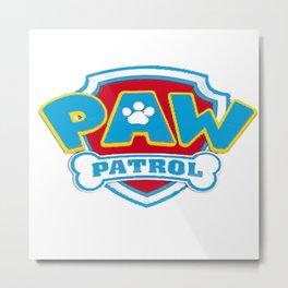 patrol dog Metal Print