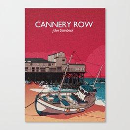 Cannery Row - John Steinbeck Canvas Print