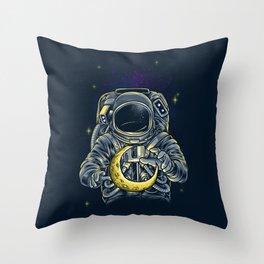 Moon Keeper Throw Pillow