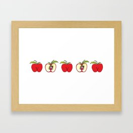 """Apples"" Framed Art Print"