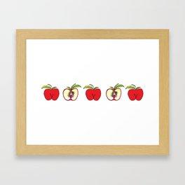 """""""Apples"""" Framed Art Print"""