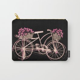 Pink bike Carry-All Pouch