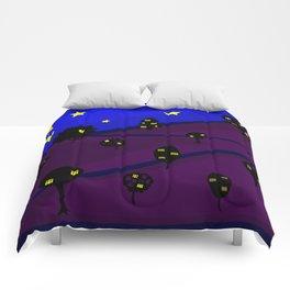 Starry Tree Village Comforters