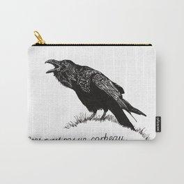 Ceci n'est pas un corbeau. Carry-All Pouch