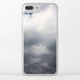 Winter Clouds #society6 #decor #buyart #artprint Clear iPhone Case