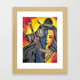 Lord Shiva Framed Art Print