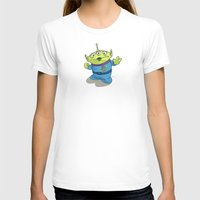 toy story T-shirts featuring Toy Story | Pizza Planet Alien by Brave Tiger Designs