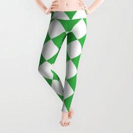 Green Chess Leggings