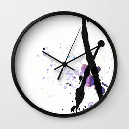Opposed Wall Clock