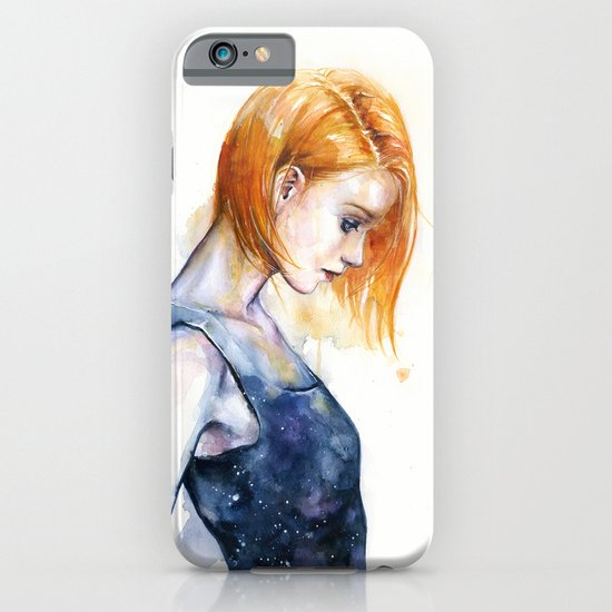 heliotropic girl iPhone & iPod Case