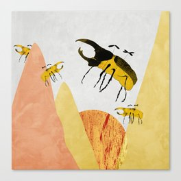 second scarab field Canvas Print