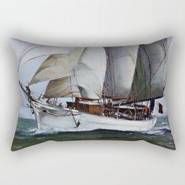 La Belle Poule Rectangular Pillow
