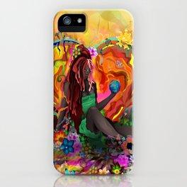 Cherish the Earth iPhone Case
