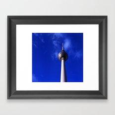 Fernsehturm de Berlín Framed Art Print