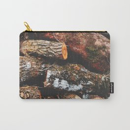 Wood Heap Carry-All Pouch
