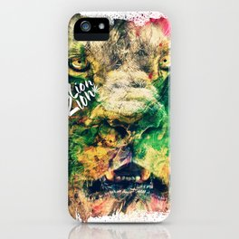 lion zion iPhone Case