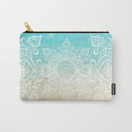 Beach Mandala Carry-All Pouch