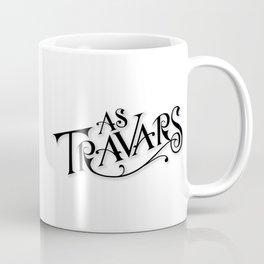 As Travars - To Travel (black) Coffee Mug