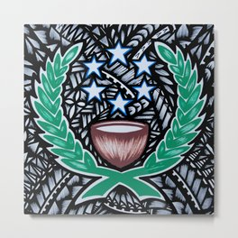 Micronesian Metal Print